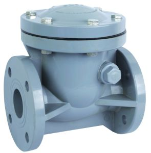 CPVC Swing Check Valve /CPVC Check Valve (H44X-10C) pictures & photos