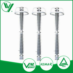 Kema All Types Class 1 to 5 High Voltage Ceramic Lightning Arrester 220kv pictures & photos