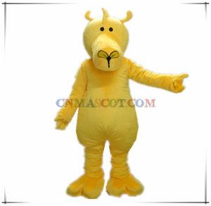 Top Quality Yellow Deer Animal Mascot Costume