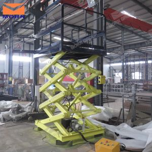 Fixed Hydraulic Mechanical Scissor Lift pictures & photos