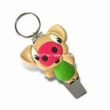 2015 Customized 3D Promotion PVC Gift Wholesale Fashion Soft Keychain