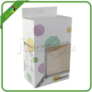 Paper Board Folding Box / Printed Foldable Boxes with PVC Window pictures & photos