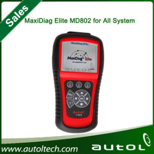 Newest Autel Maxidiag Elite Md802 All System Diagnostic Tool pictures & photos
