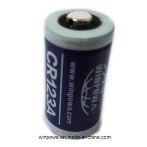 Cr123A Non Rechargeable Blue Lithium Battery