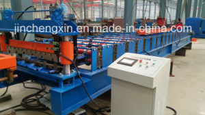 Galvanized Steel Roofing Sheet Forming Machine High Speed pictures & photos