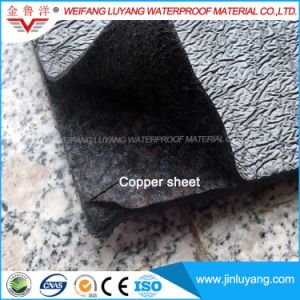 Anti Root Puncture Modified Bitumen Waterproof Membrane with Copper Sheet