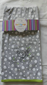Polycotton Melange Two Layer Baby Blanket pictures & photos