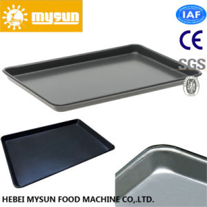 Aluminum Alloy Non-Stick Round Corner Flat Baking Tray pictures & photos