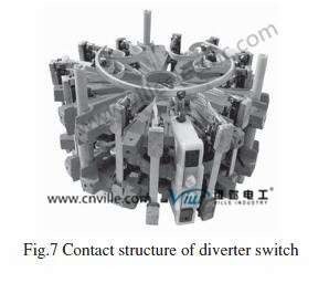Transformer on-Load Tap Changers with Multiple Coarse & Fine Regulation Transformer Switch pictures & photos
