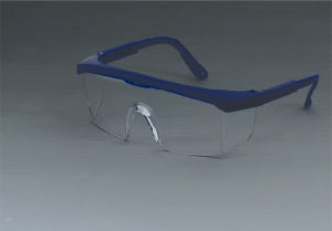 Safety Glasses for Working (JK12003-Blue+Clear) pictures & photos