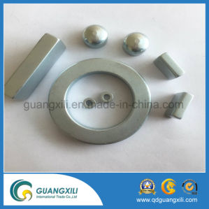 Hard Ferrite Sintered Multipole Magnet Rings pictures & photos