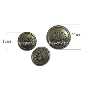 Metal Button Zinc Alloy Customized Jeans Button pictures & photos