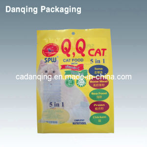 Cat Food Pouch with Hole (DQ0235) pictures & photos