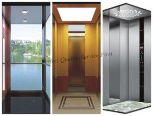 Hot Sale 0.4m/S Passenger Lift Home Lift Without Machine Room pictures & photos