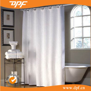 High Quality Waterproof Hotel Bathroom Shower Curtain (DPF2467) pictures & photos