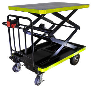 Scissor Type Lifting Platform Cart (DH-LF1-C8 Curtis Controller, 800W Motor) pictures & photos