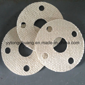 Non Metal Fiberglass Seal Ring Heat Resistant Gasket for Flue pictures & photos