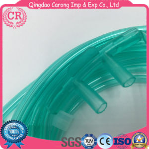 Nasal Disposable Medical PVC Oxygen Tube pictures & photos