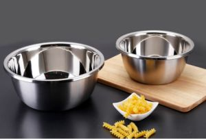 Stainless Steel Food Mixing Thicken Basin (JH-003) pictures & photos