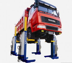 Maxima Wireless Heavy Duty Column Lift Ml4030W Ce Certified Bus Lift/Truck Lift pictures & photos