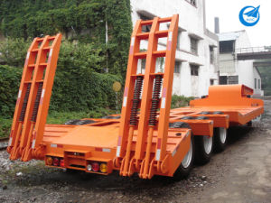 Low Bed Utility Semi-Trailer Semi Trailer pictures & photos