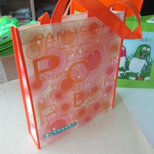 Custom Polyester Non Woven Folding Shopping Bag pictures & photos