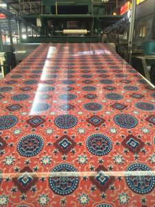 2016 New Designs Flower Coated Prepainted Galvanised PPGI Coils pictures & photos
