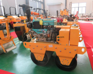 Furd Double Drum Hand Roller Compactor, Hand Road Roller pictures & photos