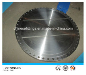 GOST Carbon Steel Head Flat Plate Blind Forged Flange pictures & photos