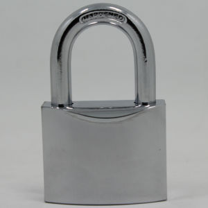 Heavy Duty Solid Brass Padlock W/Chrome Plated (NR640) pictures & photos