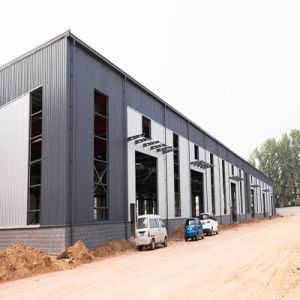 Large Wide Span Light Steel Structure Construction Frame Warehouse pictures & photos