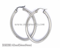Fashion Stainless Steel Earring (SE60390)