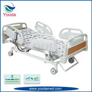 Three Function Hospital Adjustable Bed with Hand Controller pictures & photos