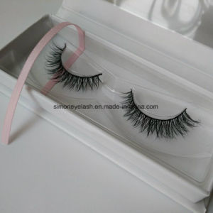 2017 High Quality Wholesale Private Label Real Mink Strip Eyelashes pictures & photos
