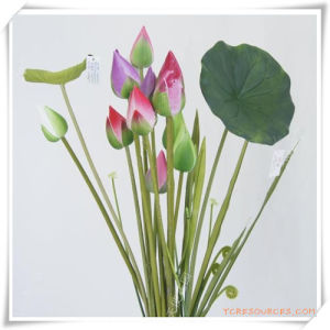 Lotus Bud Simulation Flowers for Promotion pictures & photos