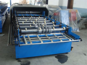 Brand New PPGL PPGI Nivel Dual Steel Sheet Roll Forming Machine pictures & photos