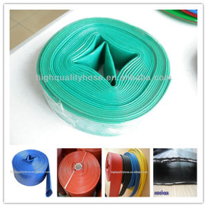 High Pressure Water Suction and Discharge PVC Layflat Hose pictures & photos