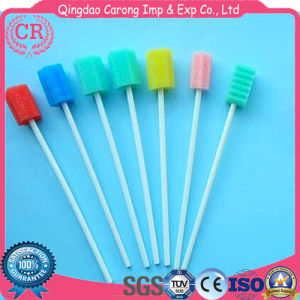 Disposable Sponge Swab for Oral Medical Use pictures & photos