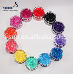 Shinnning Hexagonal Sequins Flakes Glitter Powder pictures & photos
