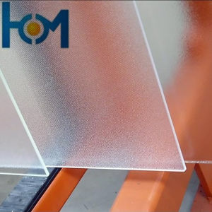 Anti-Reflection Patterned Low Iron Glass for PV Module pictures & photos