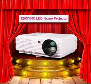 4.2android WiFi Wirless 1280*800 LCD Projector with HDMI, USB (sv-228) pictures & photos