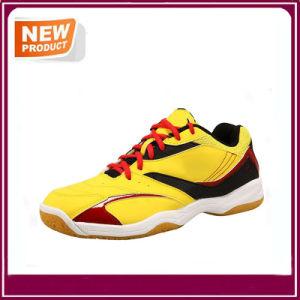 Cushion Men′s Badminton Shoes Sport Shoes pictures & photos