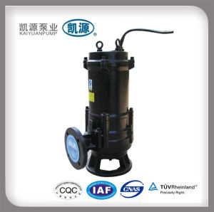 Qw Non Clogging Submersible Sewage Pump pictures & photos