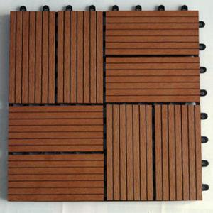 DIY Interlocking Deck Tile/Composite Decking Tiles/ Outdoor Floor Tiles pictures & photos