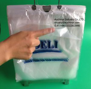 LDPE Seal Top Deli Saddle Pack Saddle Ziplock Bags for Meat pictures & photos