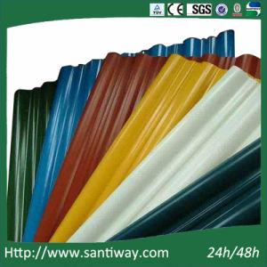 Ce Certificate Color Coated Steel Roofing Tile Sheets pictures & photos