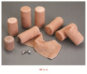 High Quality Skin Color Elastic Crepe Bandage pictures & photos