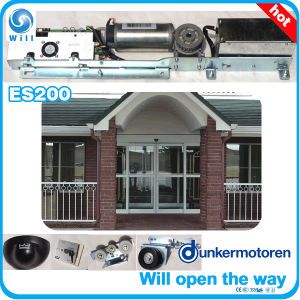 China automatic sliding door system with germany dunker for Sliding glass doors germany