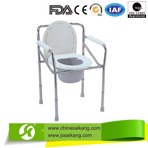 Professional Service Plastic Toilet Seat with Cover and Bucket pictures & photos