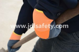 Cryogenic Work Gloves with Latex Coating (Double Layer) (L3036) pictures & photos